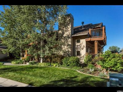 Holladay Townhouse For Sale: 6550 S Canyon Ranch Rd