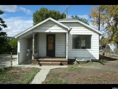 Price UT Single Family Home For Sale: $78,000
