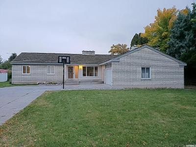 Preston Single Family Home For Sale: 248 E 2nd N