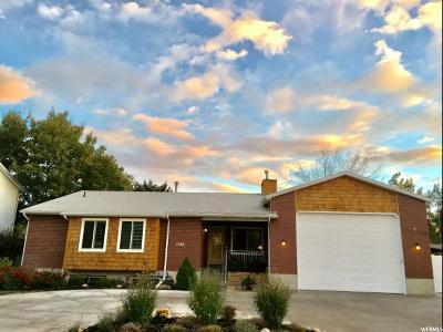 Sandy Single Family Home For Sale: 1340 E Valley Ridge Dr