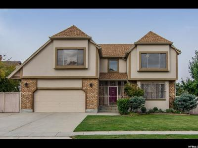 Sandy Single Family Home For Sale: 8882 S Summer Crest Dr