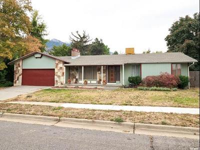 Cottonwood Heights Single Family Home For Sale: 3486 E 9055 S