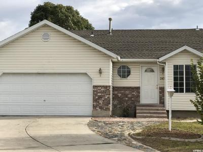 West Valley City Single Family Home For Sale: 2807 S Clearbrook Dr W