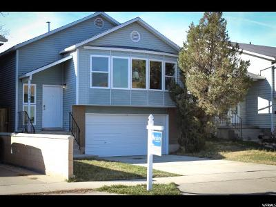 West Valley City Single Family Home For Sale: 3128 S Jason Pl W