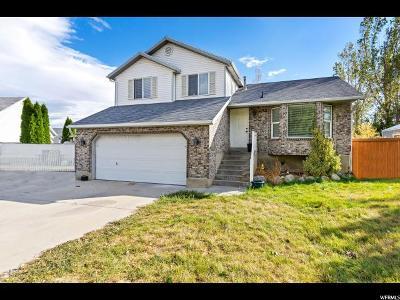 West Jordan Single Family Home For Sale: 2471 W Garden Creek Way