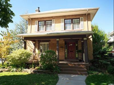 Salt Lake City Single Family Home For Sale: 178 S 1200 E