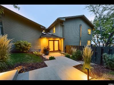 Salt Lake City Condo For Sale: 719 N Eastcapitol Blvd
