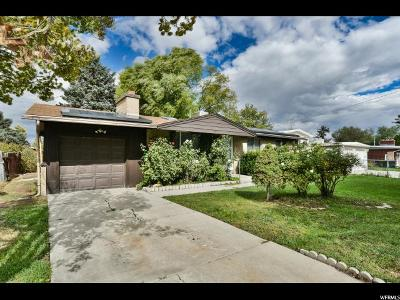 West Valley City Single Family Home For Sale: 3308 W 4060 S
