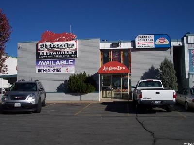 South Ogden Commercial For Sale: 3609 S Washington Blvd E #LOT 10