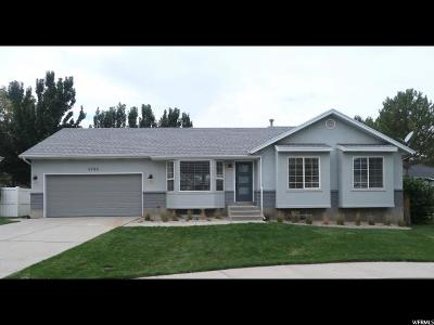 Salt Lake City Single Family Home For Sale: 4744 S Coopers Hawk Bay