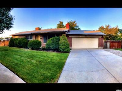 West Valley City Single Family Home For Sale: 3882 W Rawhide Dr S