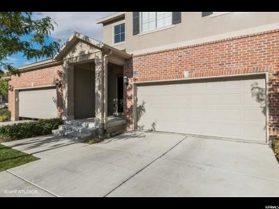 Lehi Townhouse For Sale: 3450 N Backhand Ln