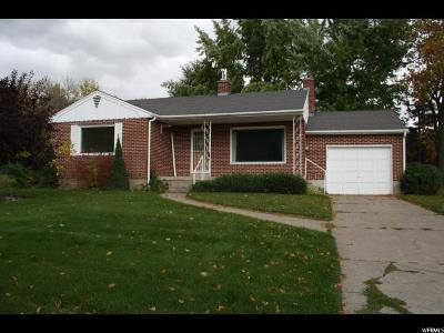 Hyrum Single Family Home For Sale: 55 W 300 S