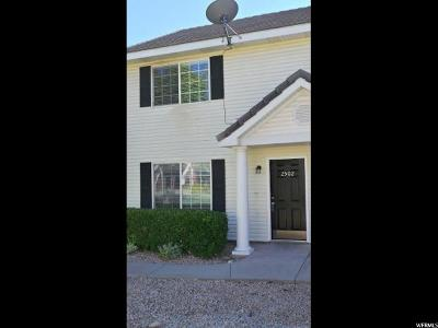 St. George Townhouse For Sale: 1735 W 540 N #2502