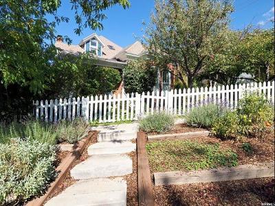 Salt Lake City Single Family Home For Sale: 110 W Girard Ave N