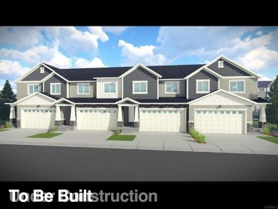 Lehi Townhouse For Sale: 3677 W 1700 N #1026