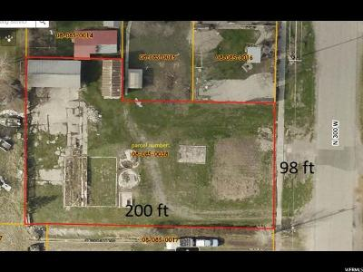 Smithfield Residential Lots & Land For Sale: 75 N 300 W