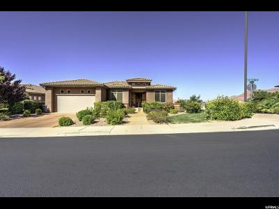 St. George Single Family Home For Sale: 2177 N Lone Rock Dr