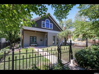 Salt Lake City Single Family Home For Sale: 277 C St