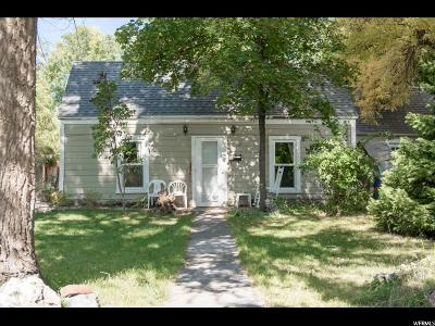 Logan Single Family Home For Sale: 441 W Center