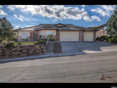 St. George Single Family Home For Sale: 589 Rolling Hills Dr