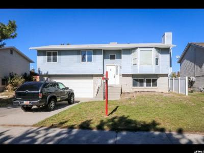 West Jordan Single Family Home For Sale: 4848 W Park Point Dr S