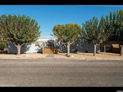 St. George Single Family Home For Sale: 74 N 2650 E