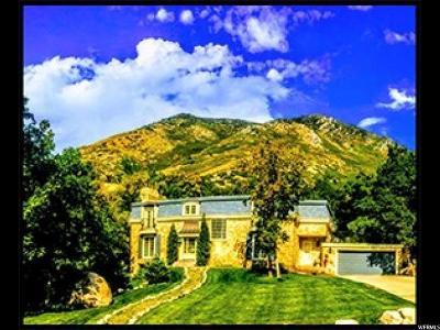 Salt Lake City Single Family Home For Sale: 4363 S Zarahemla