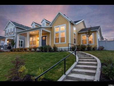South Jordan Single Family Home For Sale: 5168 W Lake Terrace Ave