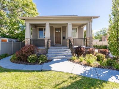 Salt Lake City Single Family Home For Sale: 1911 S Douglas St E