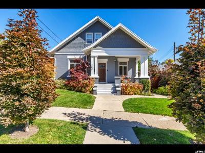 Salt Lake City Single Family Home For Sale: 364 N E St