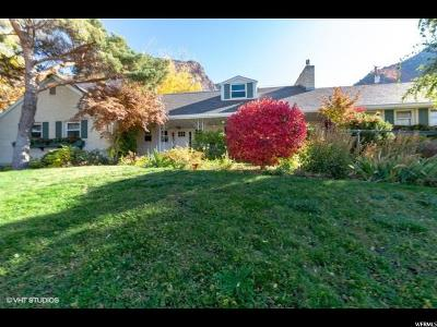 Ogden Single Family Home Under Contract: 2674 E Foothill Dr S