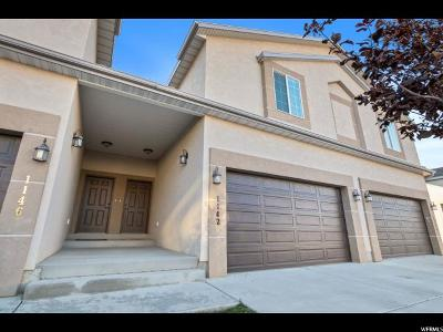 Spanish Fork Townhouse For Sale: 1142 S 2880 E