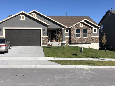 Santaquin Single Family Home For Sale: 429 Topaz Dr W