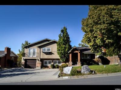 Salt Lake City Single Family Home For Sale: 3027 E Nila Way S