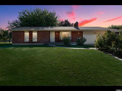 Sandy Single Family Home For Sale: 1340 E Willow Vista Cir S