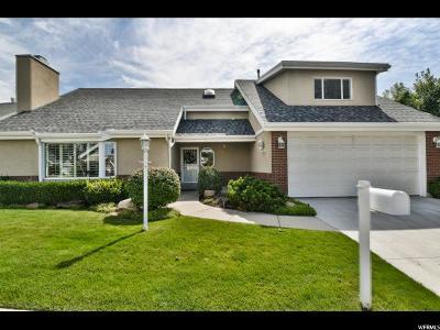 Salt Lake City Single Family Home For Sale: 2064 E Sierra View Cir