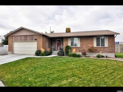 West Jordan Single Family Home For Sale: 3540 W Fenchurch Rd S
