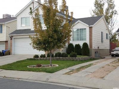 West Jordan Single Family Home For Sale: 1344 W Little Creek Dr
