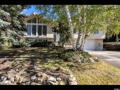 Cottonwood Heights Single Family Home For Sale: 8971 S Alpen Way E