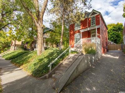 Salt Lake City Single Family Home For Sale: 518 N 200 W