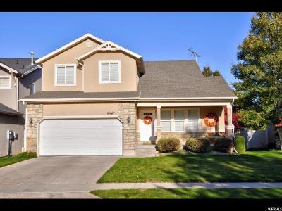 West Jordan Single Family Home For Sale: 6947 S Jordan Close Cir