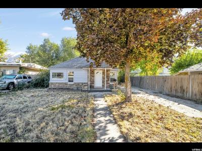Provo UT Single Family Home For Sale: $250,000