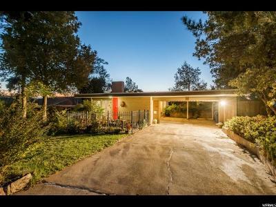 Salt Lake City Single Family Home For Sale: 2960 S Cascade Way E