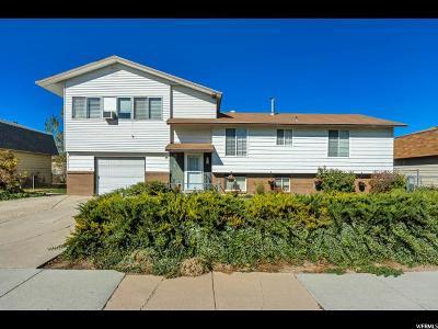 West Jordan Single Family Home For Sale: 3854 W Carolina Dr