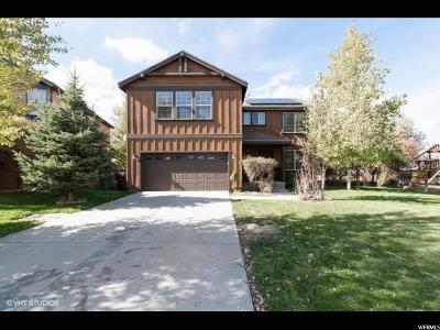 Park City Single Family Home For Sale: 5715 N Narrow Leaf Rd