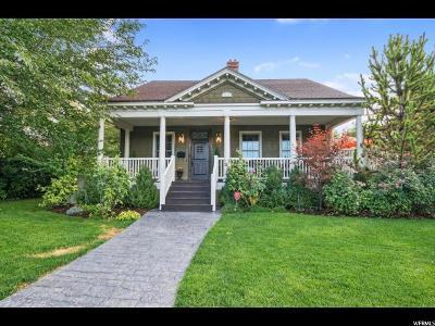 Salt Lake City Single Family Home For Sale: 1131 S 1100 E