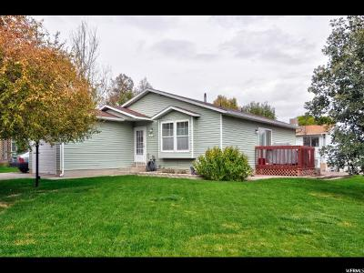 West Jordan Single Family Home For Sale: 8013 S 2980 W