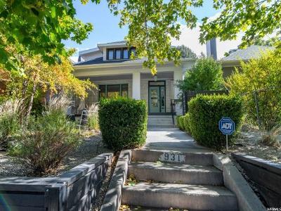 Salt Lake City Single Family Home For Sale: 931 S 900 E