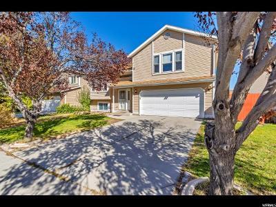 West Jordan Single Family Home For Sale: 6507 Purple Sage Dr S